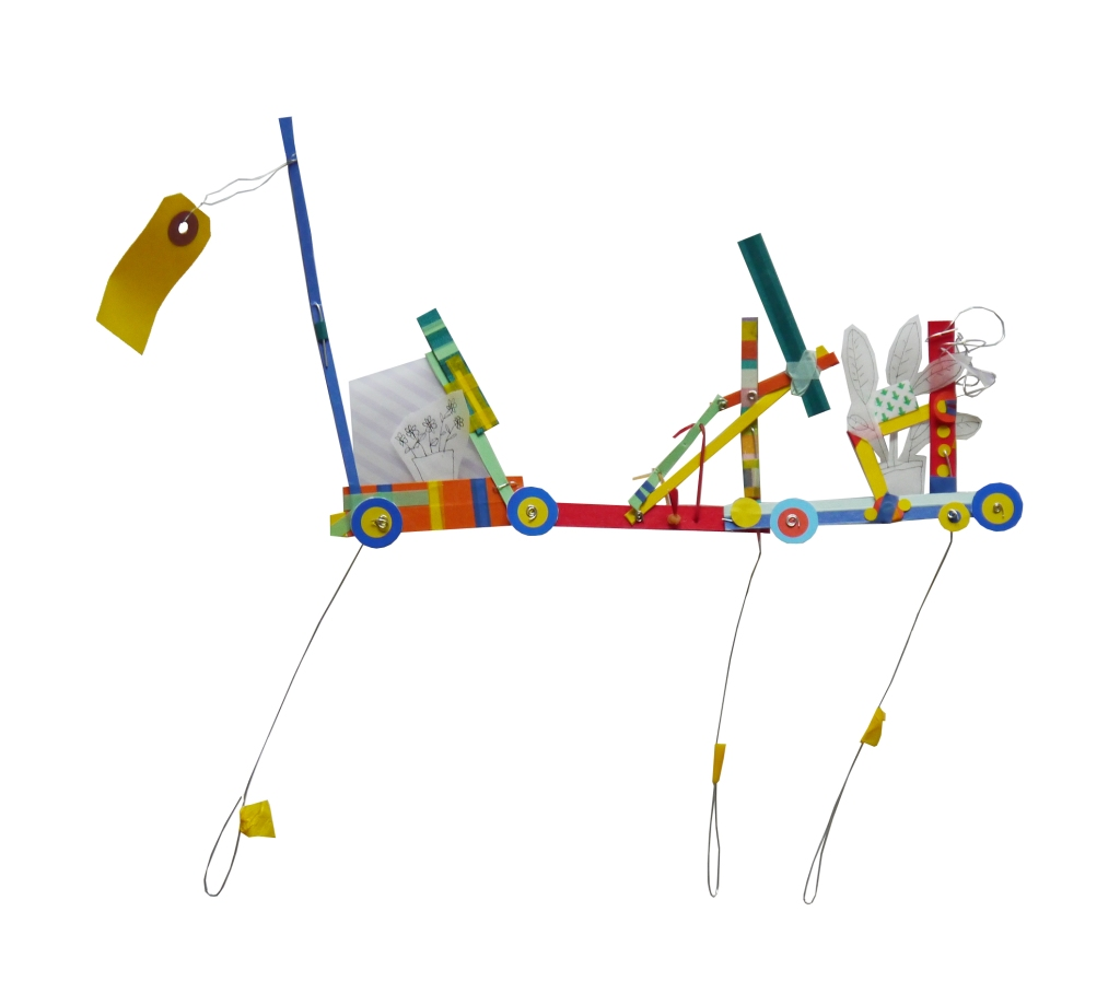 cut out mobile cart